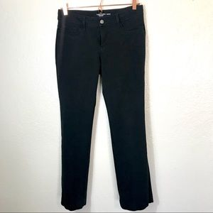Faded Glory Black Bootcut Stretchy Pants Size 6